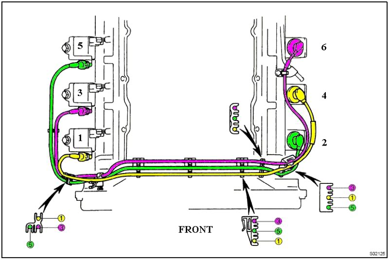 93 toyota 4runner ignition wiring diagram