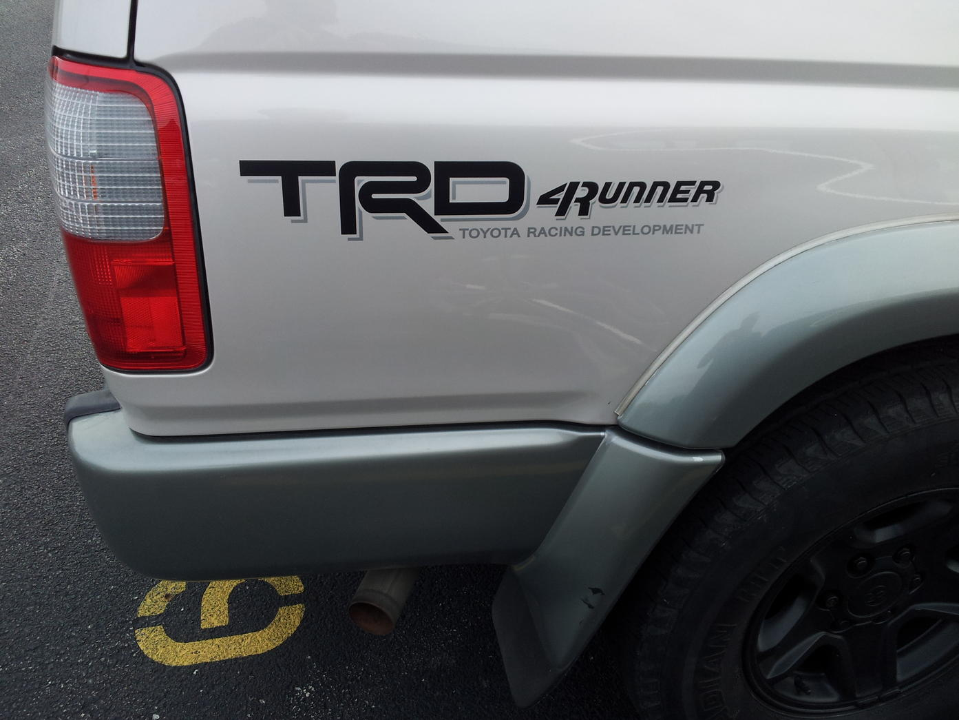 Post Pictures Of Your Unique Trd Decals Toyota 4runner Forum