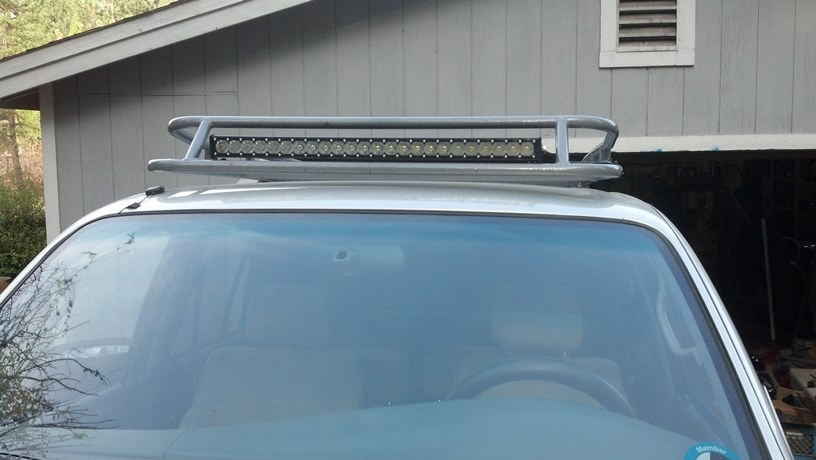 Led Light Bars On Roof Rack Toyota 4runner Forum