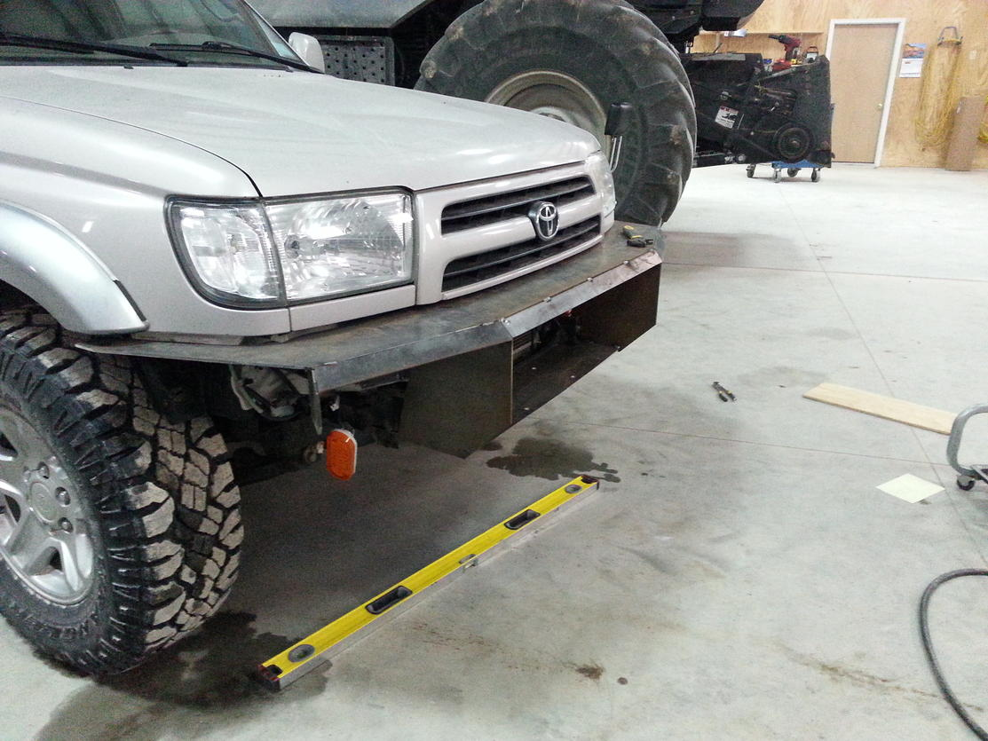 My First Plate Bumper Build Toyota 4runner Forum