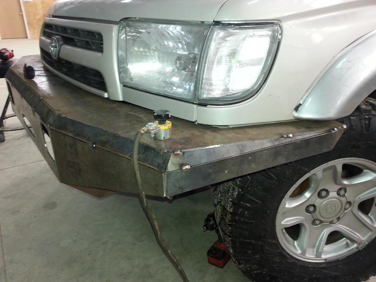 My first plate bumper build - Toyota 4Runner Forum ...