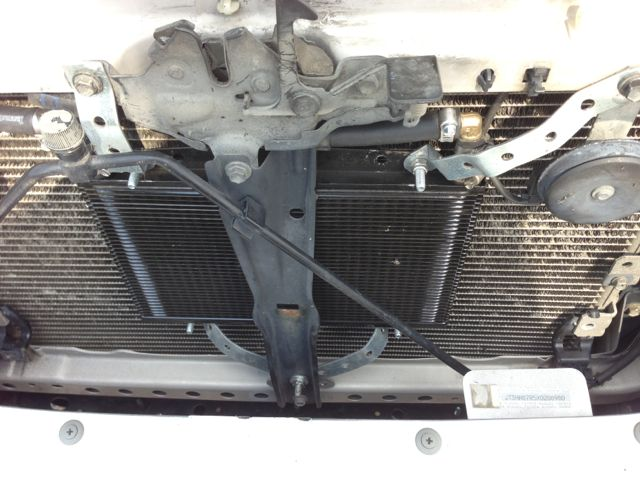 113298d1394789906 b m 70268 supercooler transmission cooler install 3rd gen radiator b m transmission cooler and temp gauge install toyota supercooler  at bakdesigns.co