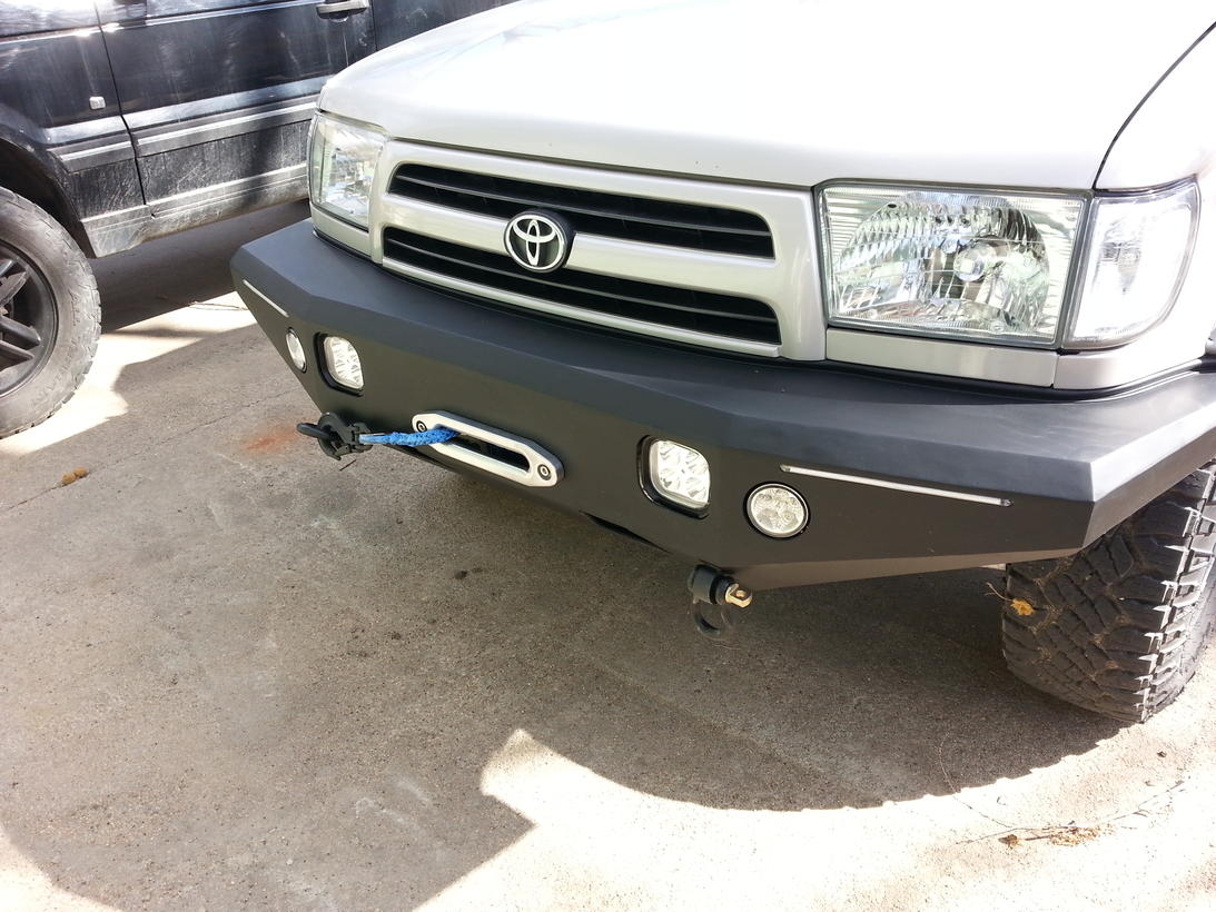 My First Plate Bumper Build Page 3 Toyota 4runner