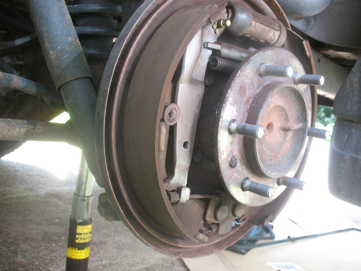 1998 Rear drum brakes Toyota 4Runner Forum Largest