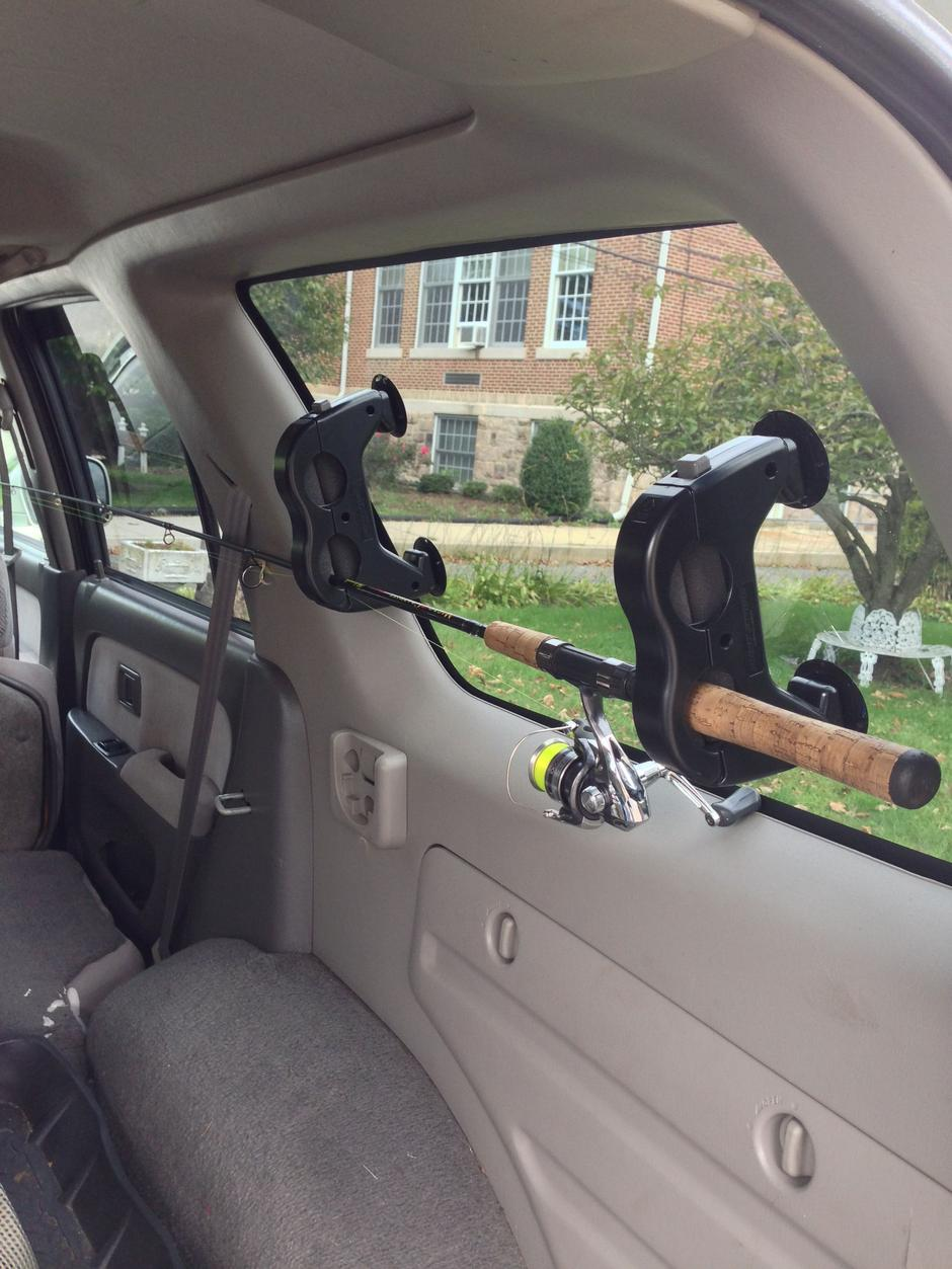 Inside Rooftop Fishing Rod Storage Toyota 4runner Forum
