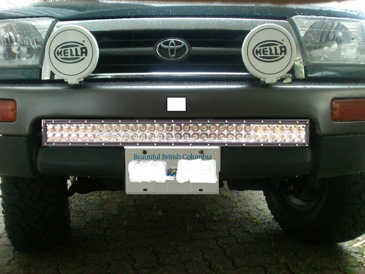 Led Light Bar In This Location Toyota 4runner Forum