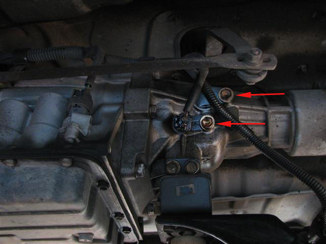 Changing tranny fluid on 08 4runner