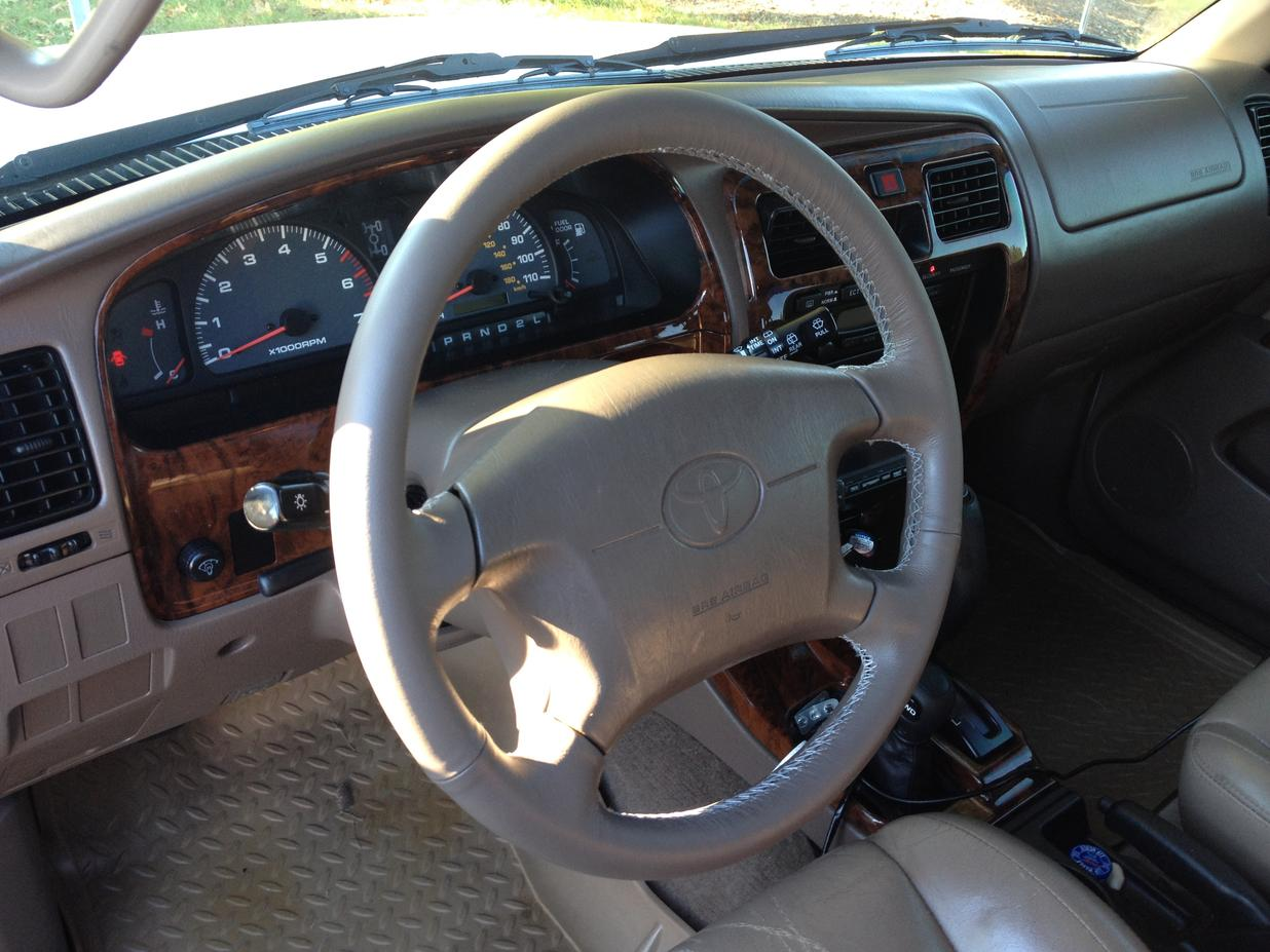 Leather Steering Wheel Replacement Toyota 4runner Forum Largest Img 0003