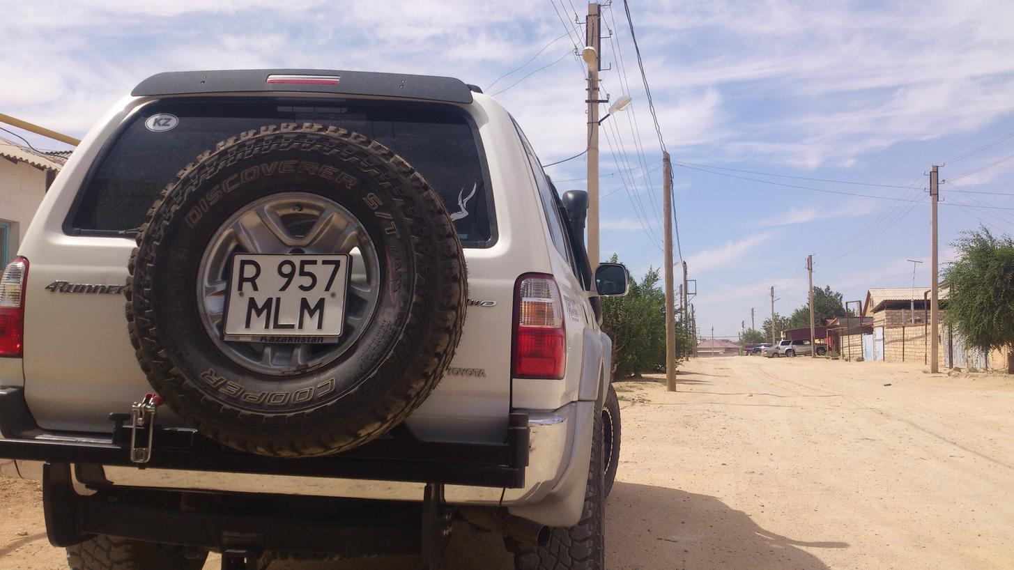 Bought a Custom made tire swingout - Toyota 4Runner Forum ...