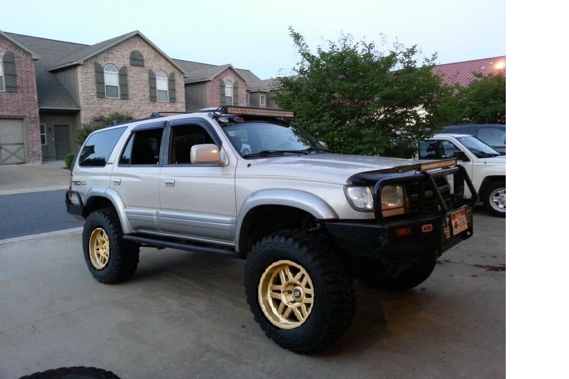 Pic Request Bronze Wheels On Desert Dune Toyota 4runner
