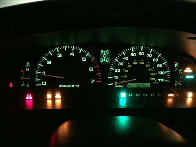Toyota corolla speedometer not working