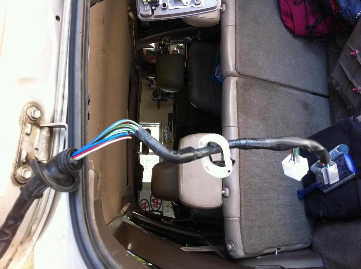 Rear Hatch  Wiper  Window Fuse Location     - Toyota 4runner Forum