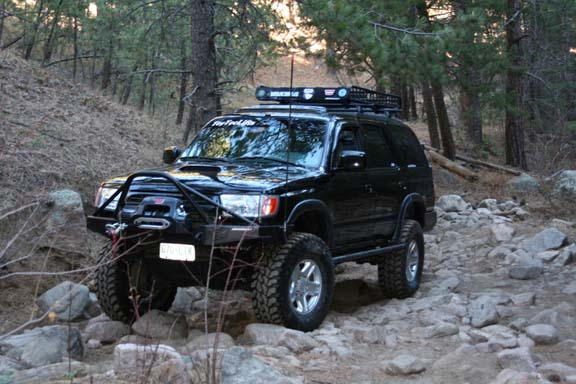 Toyota 4runner Lifted Pictures. only need a body lift.