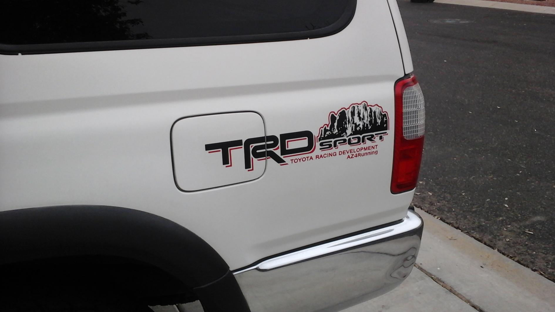 Post pictures of your unique trd decals 20141208 162205 jpg