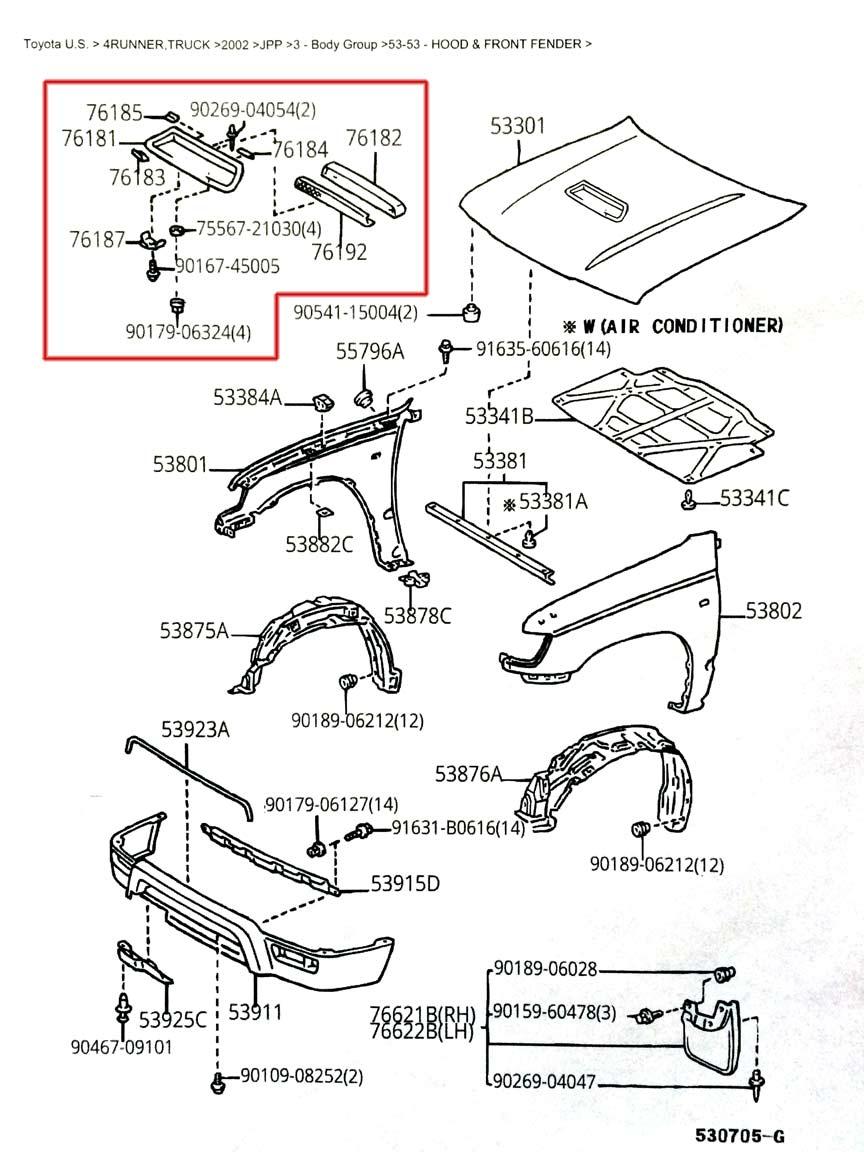 Cytronus Build Thread Pic Heavy Page 4 Toyota 4runner. Attached 3rd Gen Hood Scoop Diagram 1179 Kb. Toyota. 4runner Intake 3 4toyota Diagram At Scoala.co