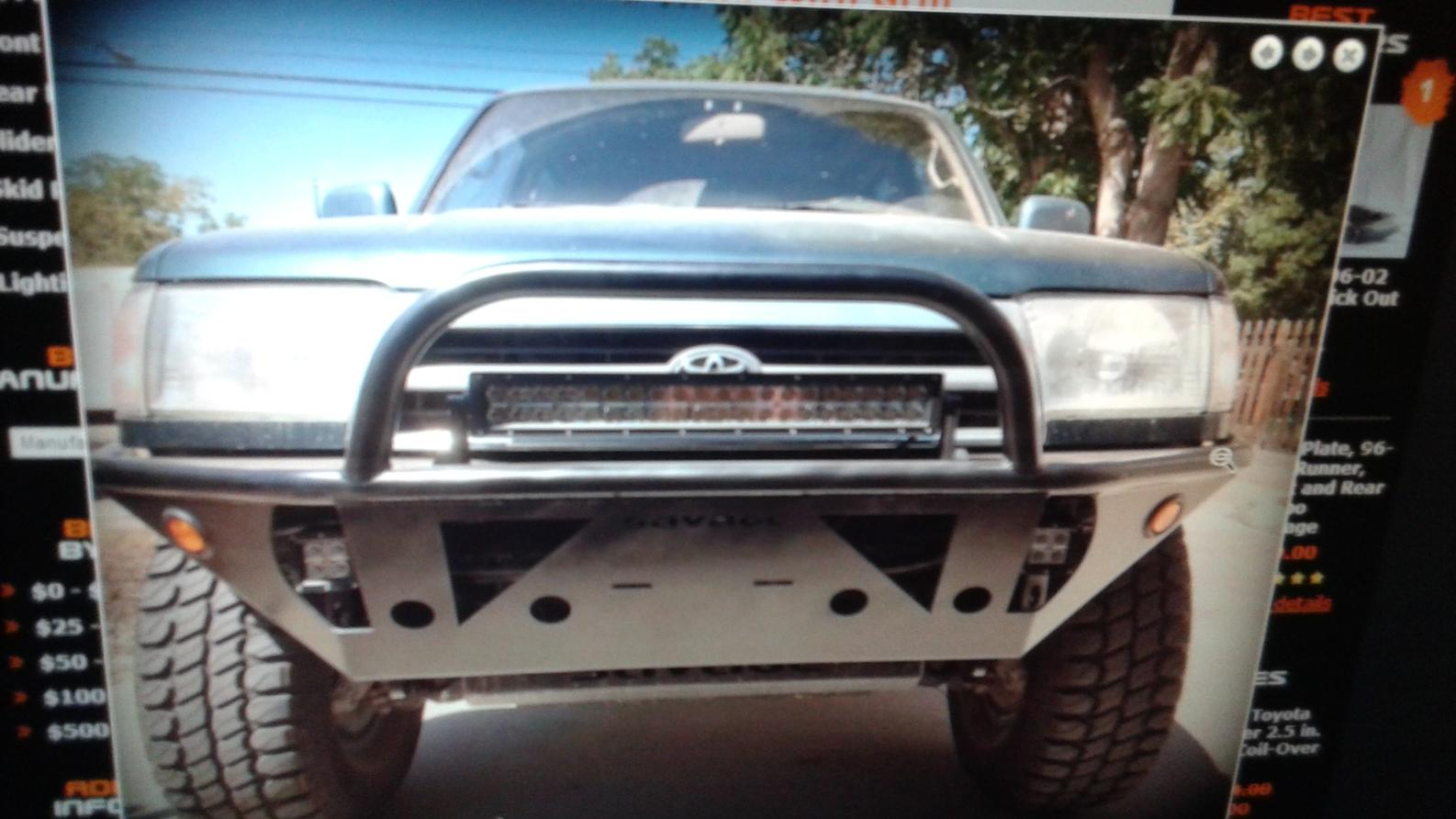 Savage Offroad front bumper question - Toyota 4Runner Forum