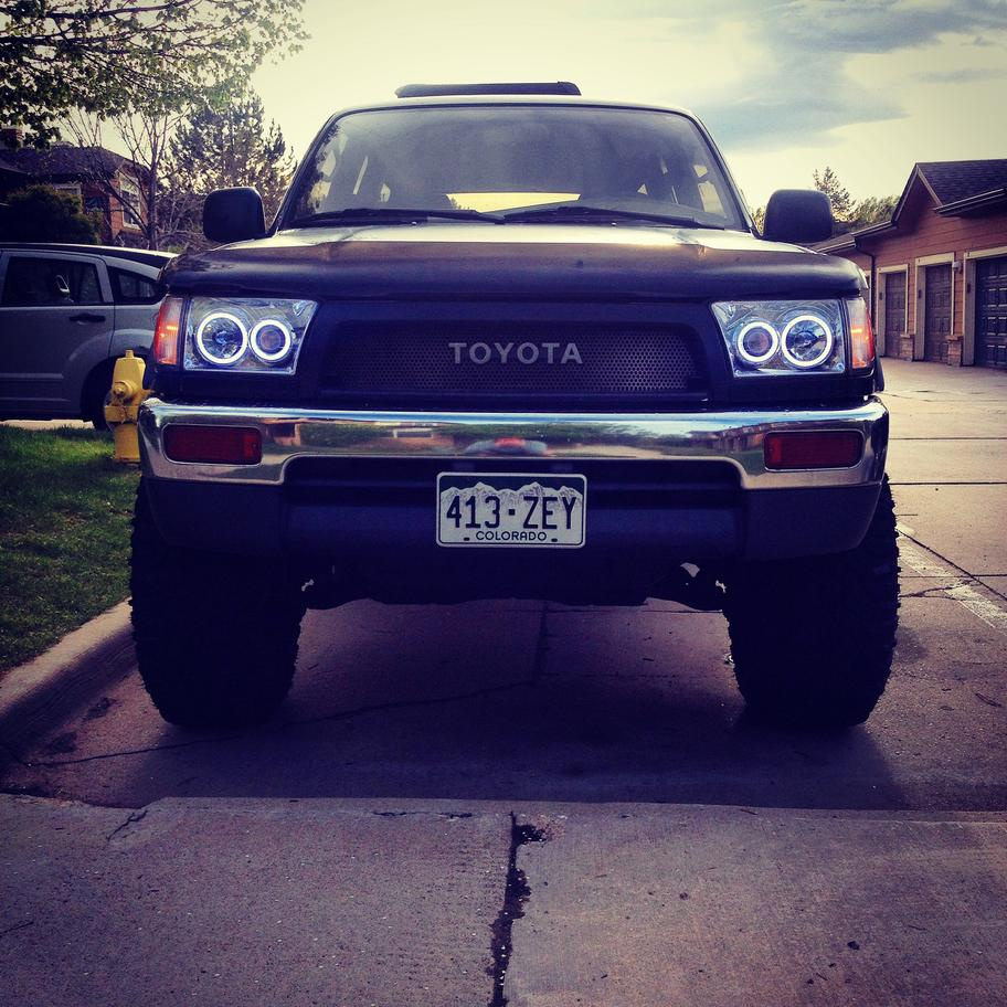 3rd Gen 4 Runner Retrofit Headlights Image Jpg