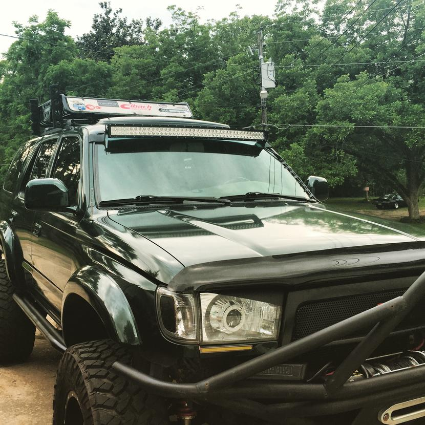 42 inch led windshield mount light bar toyota 4runner forum attached imageg 1358 kb mozeypictures Gallery