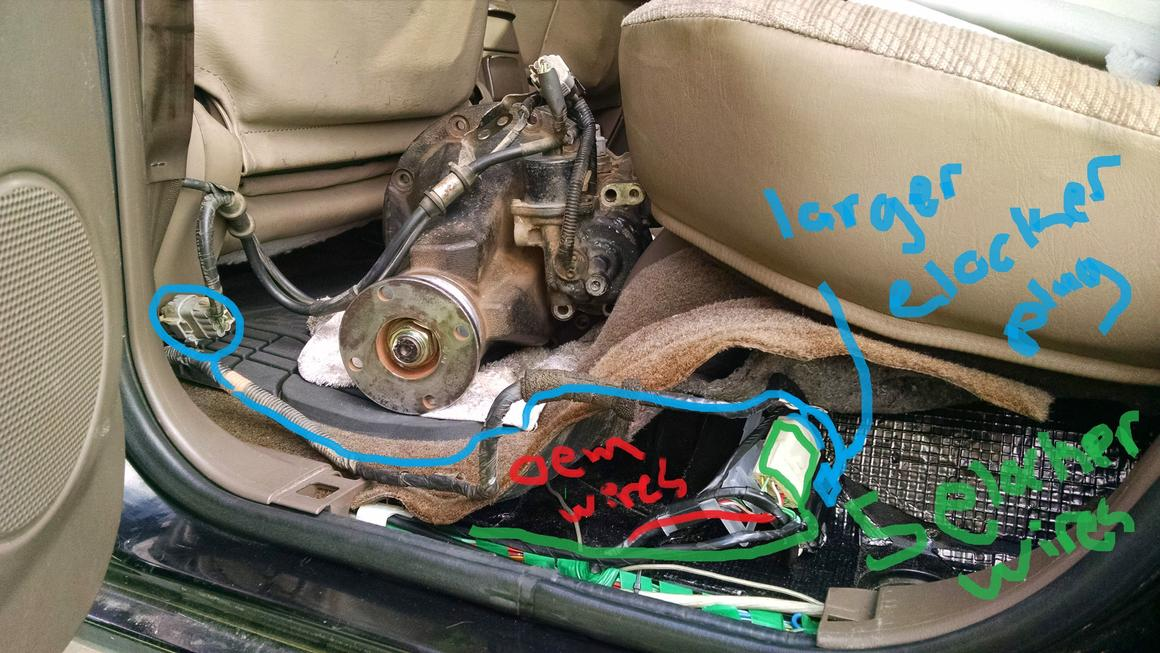 E Locker Wiring - Toyota 4Runner Forum - Largest 4Runner Forum