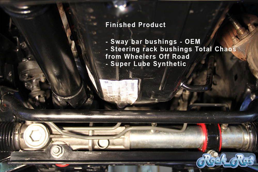 Steering Rack Poly Bushing - Washer or No Washer? - Toyota