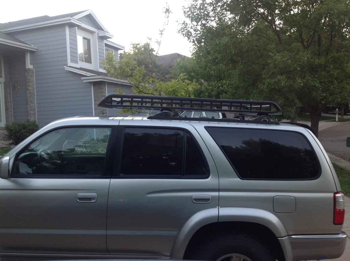 Attaching A Rola Roof Rack Page 2 Toyota 4runner