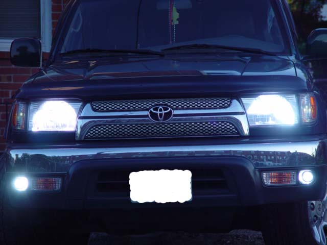 1999 4runner Limited Stock Foglights Not Working
