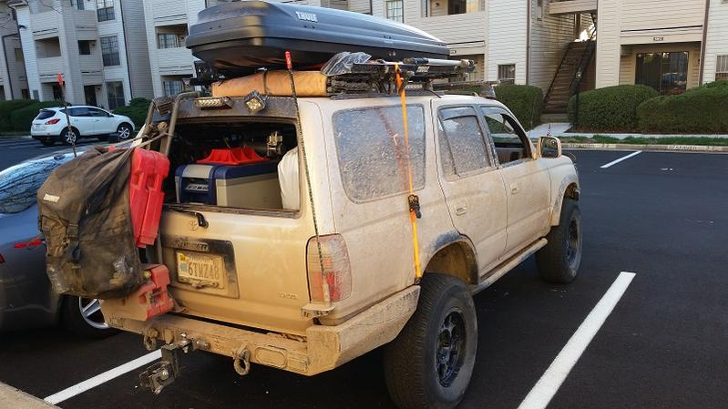 Jerry Can Trunk Mount Toyota 4runner Forum Largest