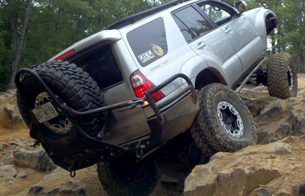 Rear Stinger Tire Carrier Toyota 4runner Forum