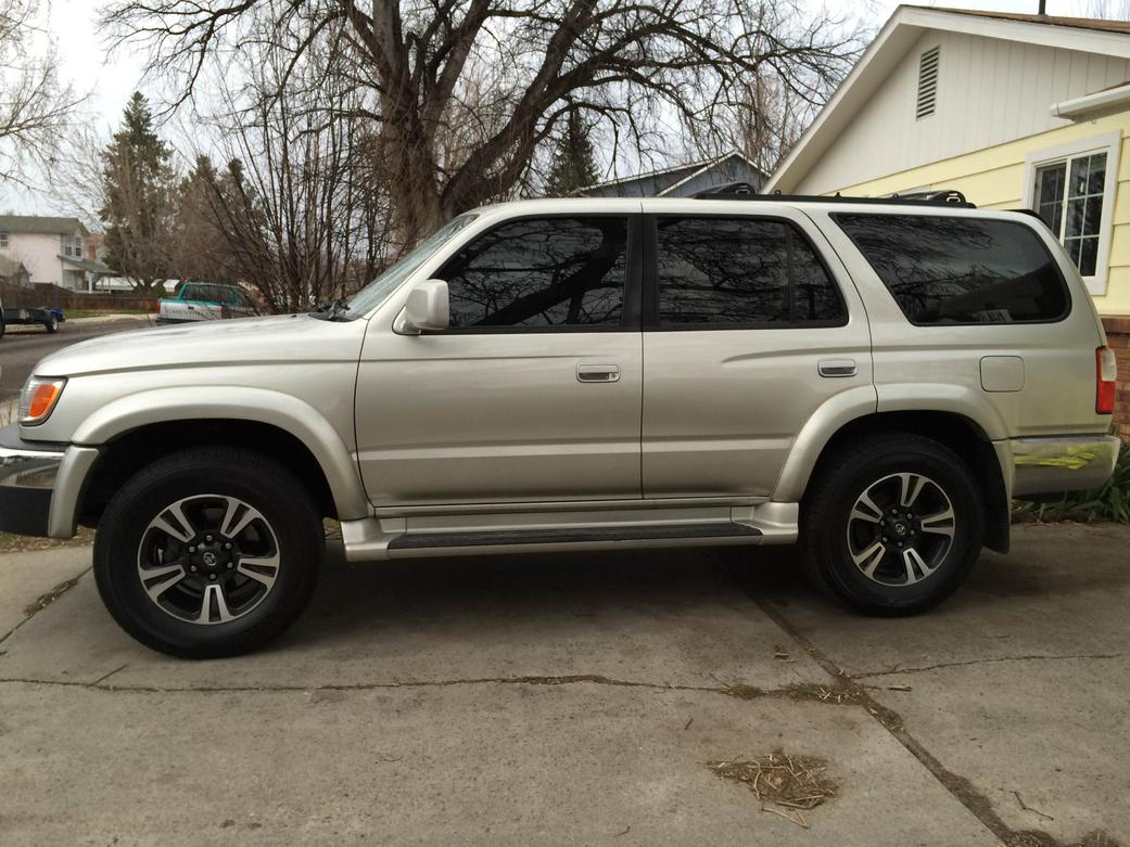 445e8e70dc6 I put some 3rd Gen Tacoma TRD Sport rims on my stock 3rd Gen 4Runner  without spacers or mods. No problems with fit