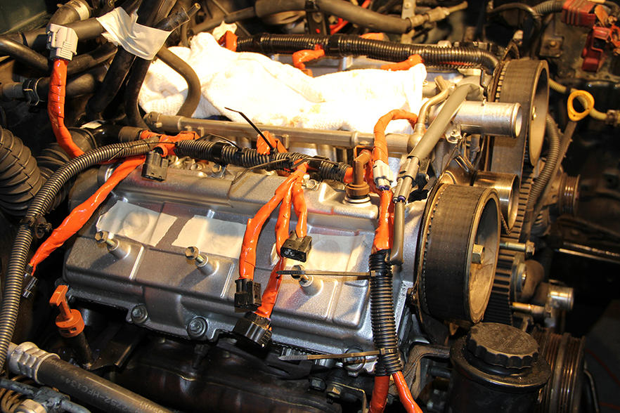 Solution to Brittle Wiring Harness Cover Under Plenum - Toyota ... on spark plug covers, fan covers, wiring cable covers,