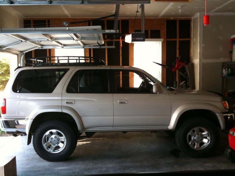 and now for the after lift pics toyota 4runner forum. Black Bedroom Furniture Sets. Home Design Ideas
