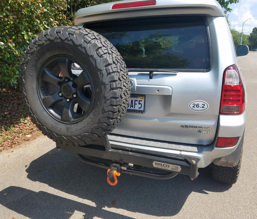 Hitch Tire Carrier Toyota 4runner Forum Largest