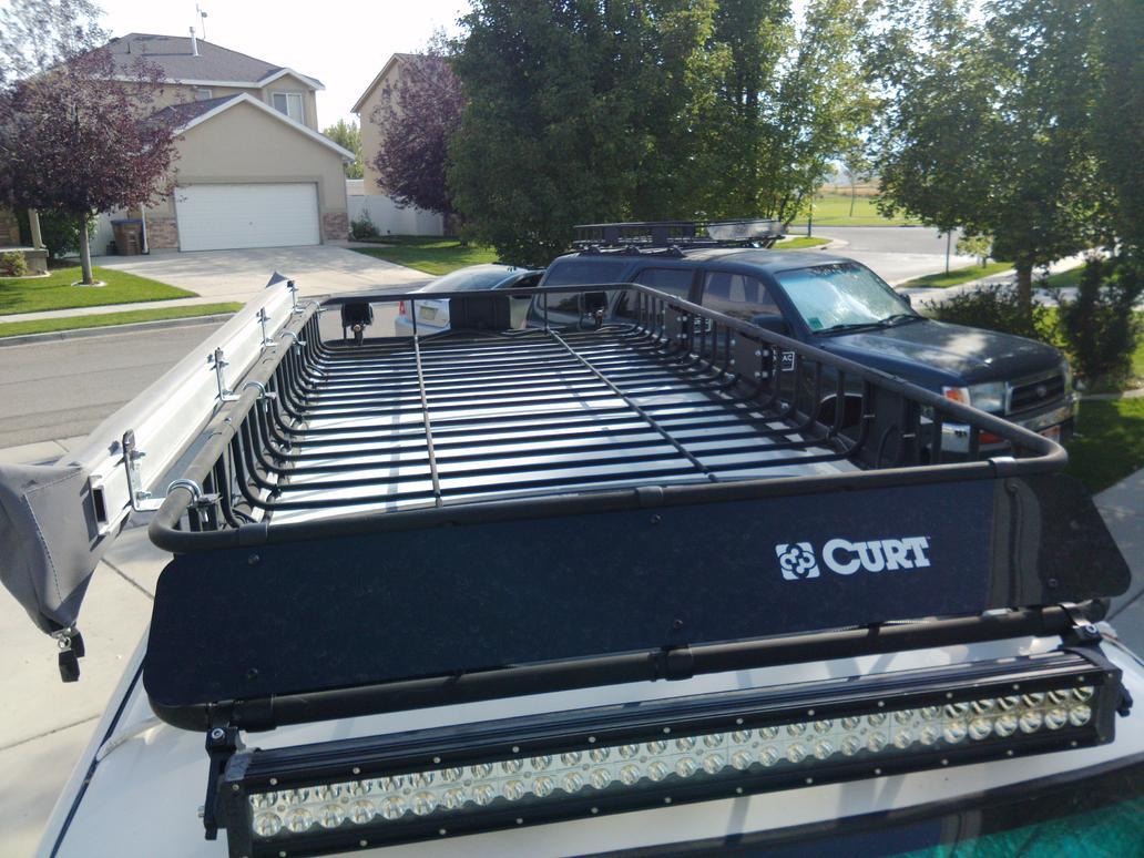 Inexpensive Full Length Roof Rack Curt Rack Toyota