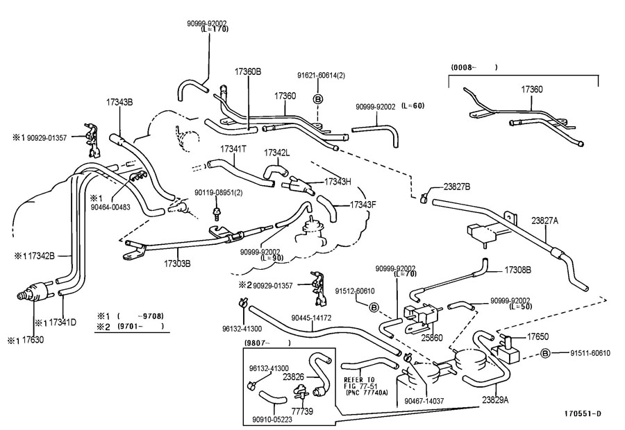 1997 Toyota T100 Engine Vacuum Diagram | #1 Wiring Diagram ... on