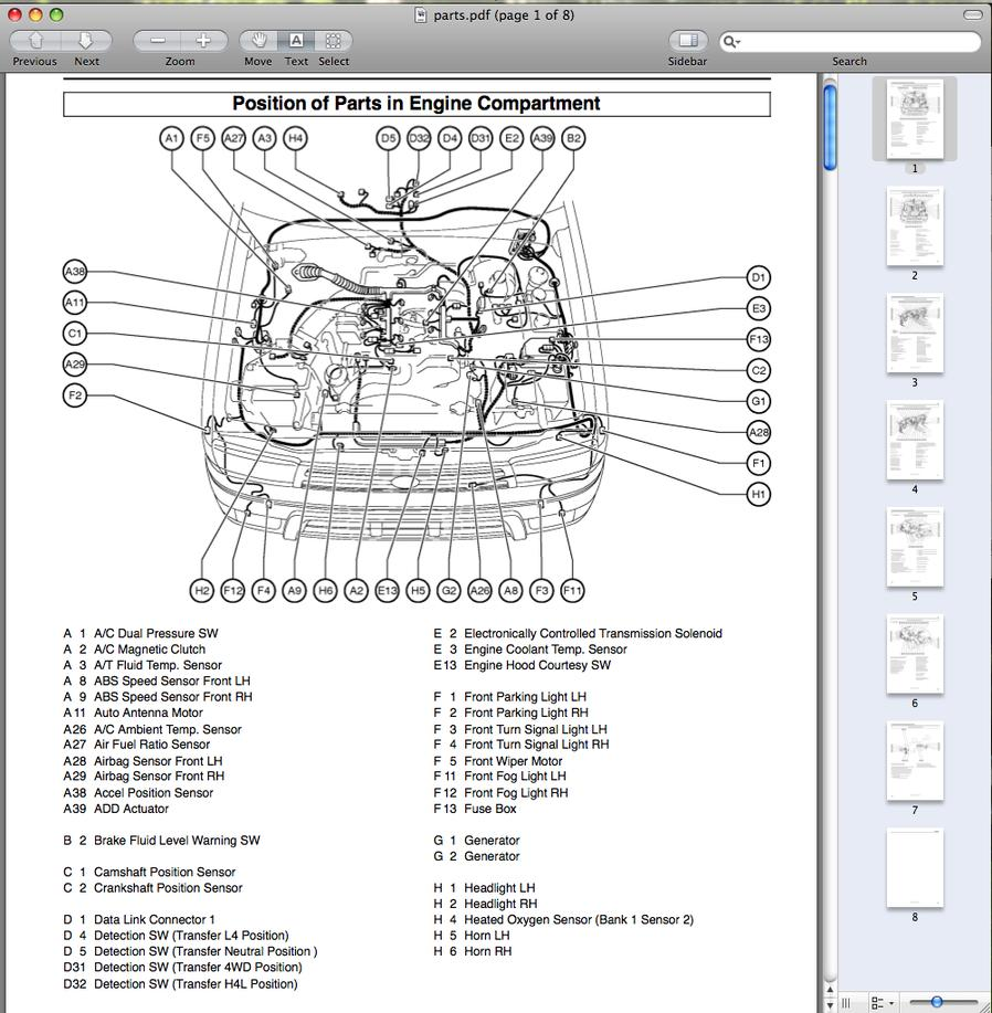 98 4runner Exhaust Diagram Wiring Diagrams Engine 1998 Toyota Electrical Rims