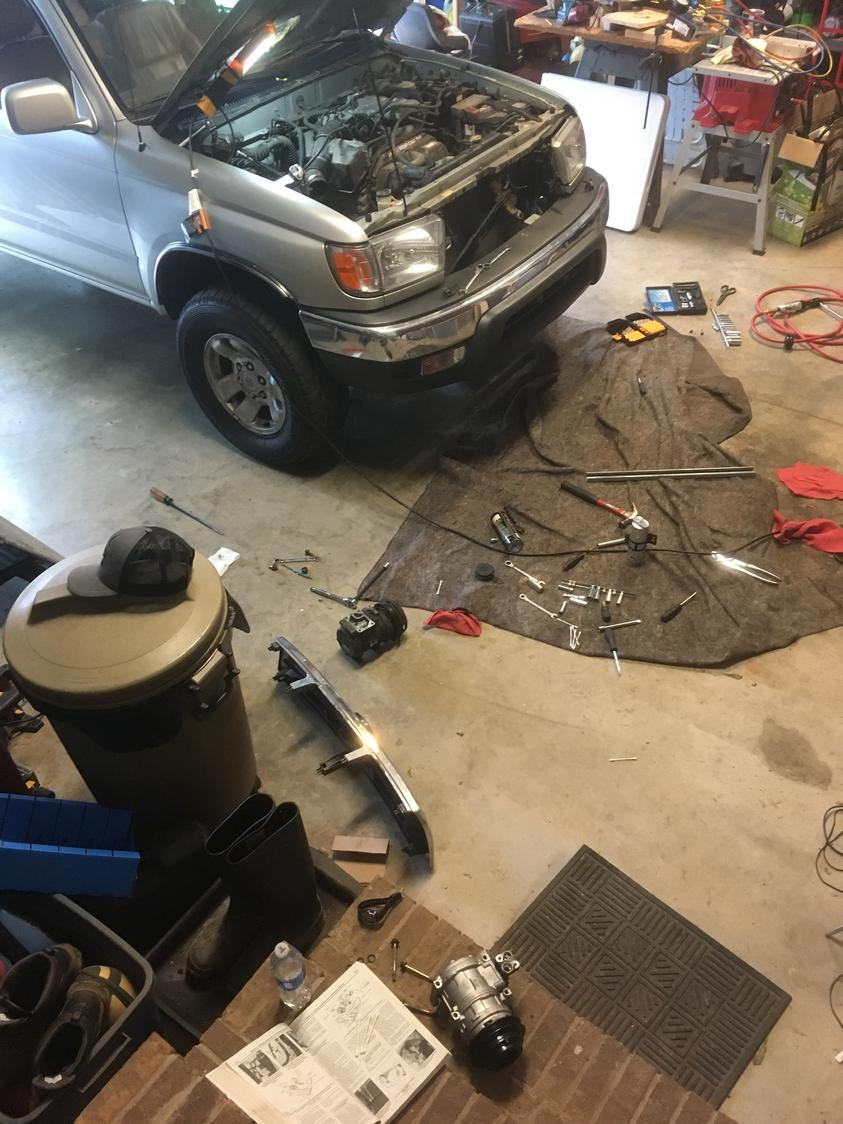 Getting Ready to Replace A/C Compressor - Toyota 4Runner Forum