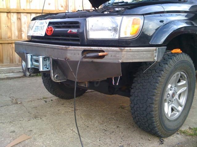 Custom Toyota Bumpers 4x4 : Bumper custom toyota