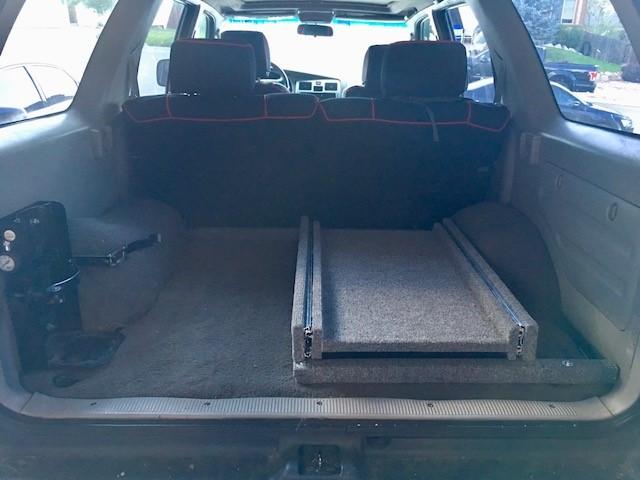 50 qt or bigger fridge in the back of the 3rd gen  - Toyota 4Runner
