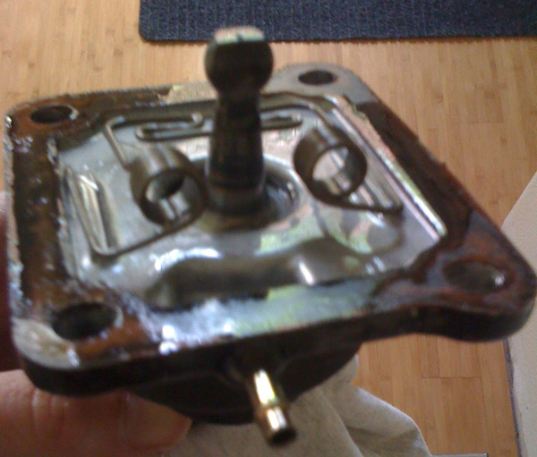 Toyota Forklift Shift Lever Switch : Leak between transmission and transfer case page
