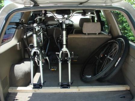 Transporting Bikes Inside Toyota 4runner Forum Largest
