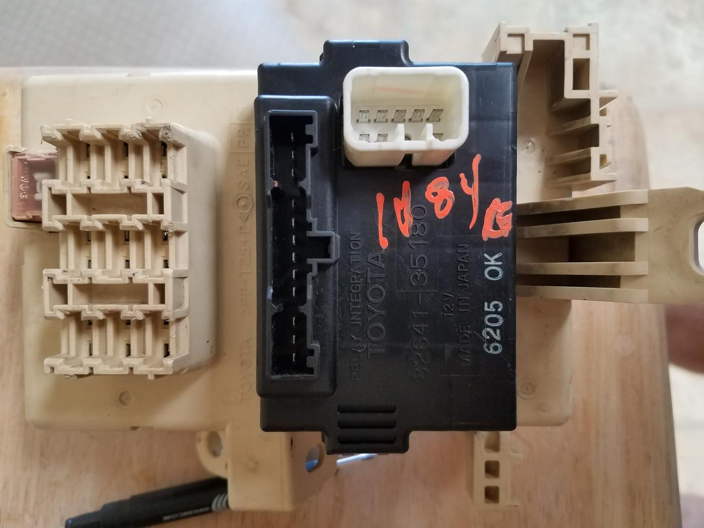 Door lock junction box relay repair? - Toyota 4Runner Forum