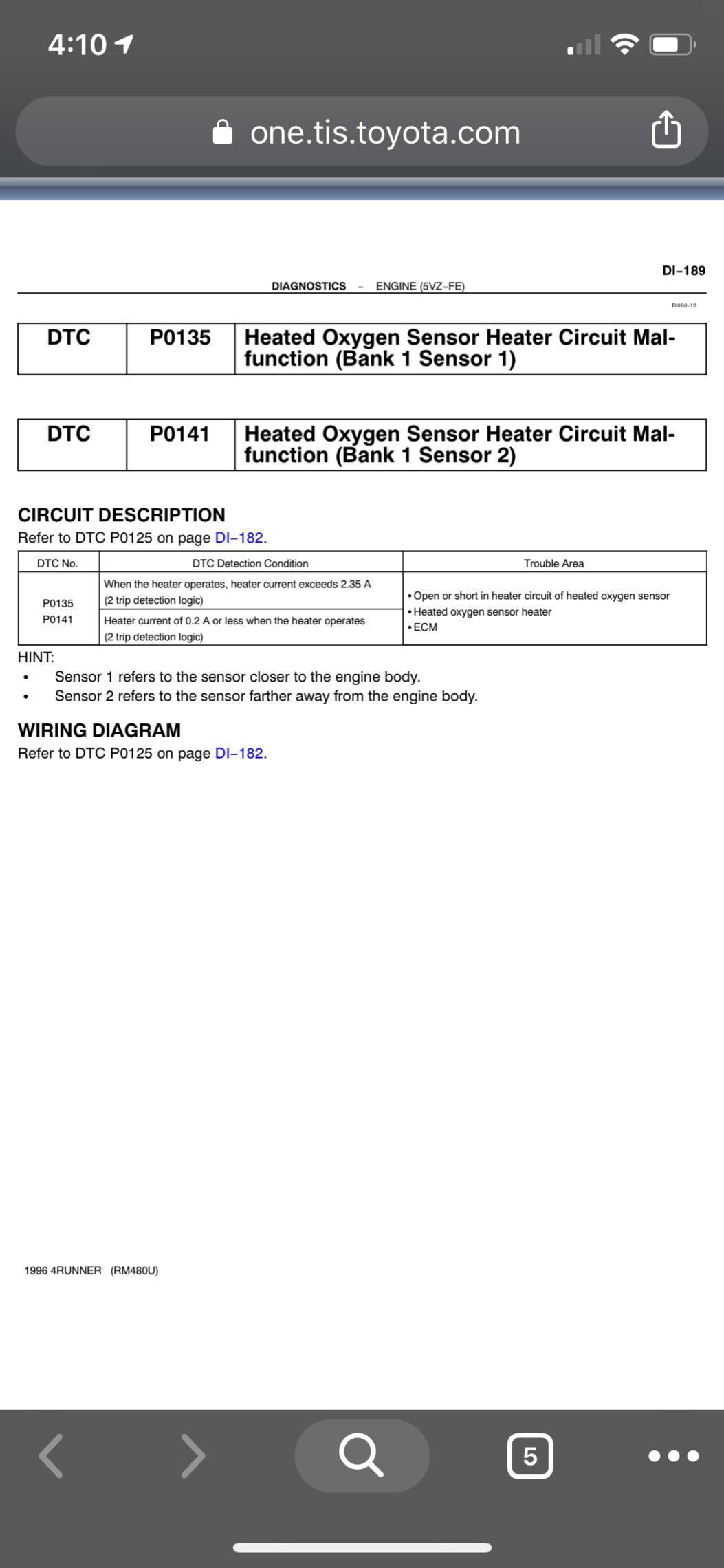Check Engine Light & P0141 After O2 Sensor Replacement