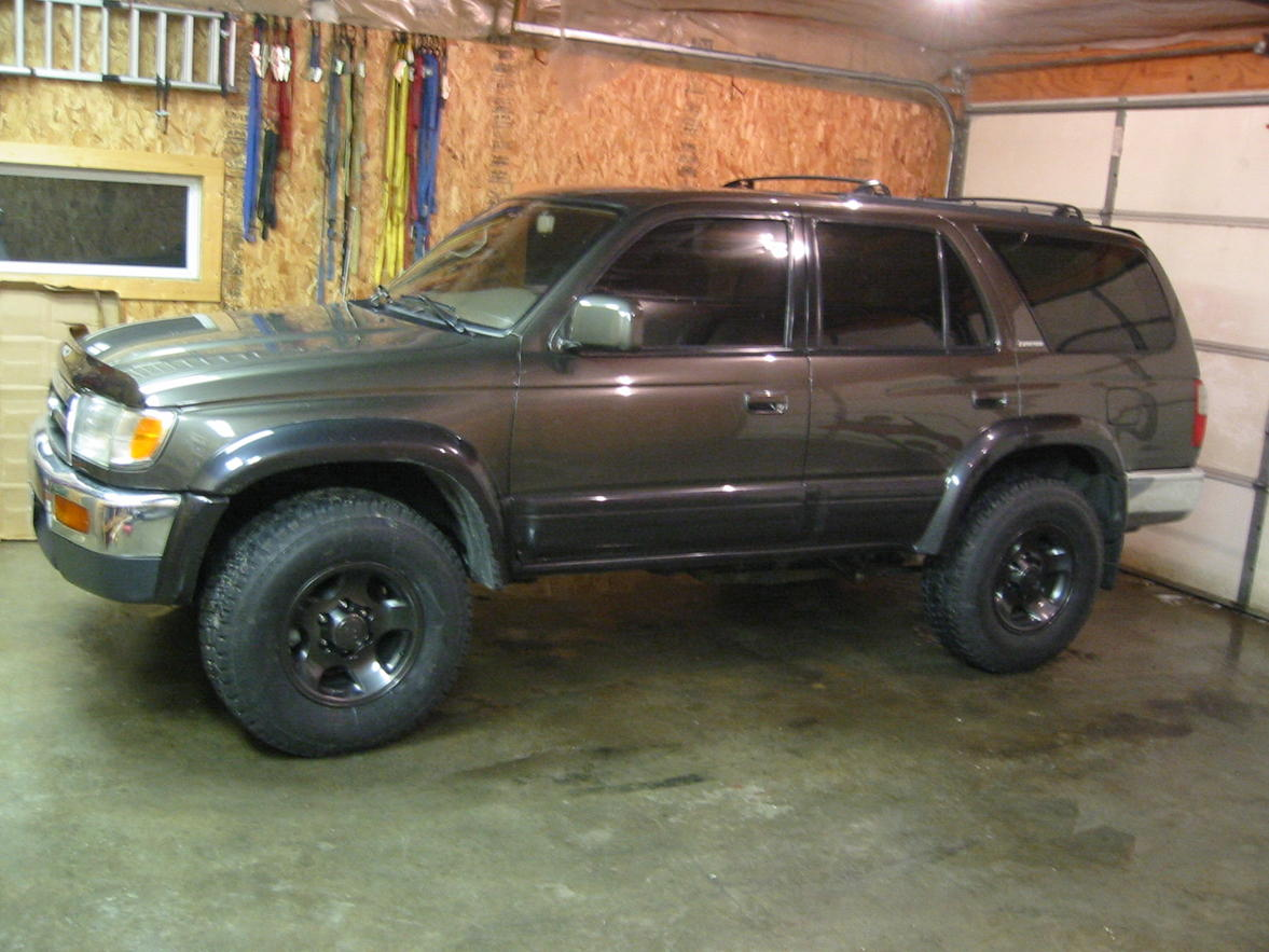 Pictures Of Green 4runners With Painted Rims Toyota