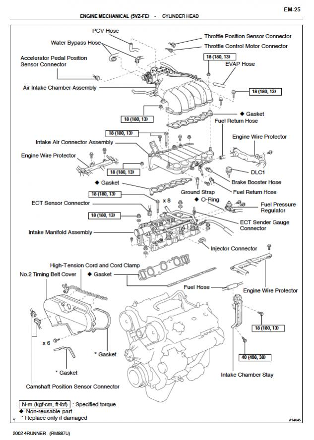 [DIAGRAM_5FD]  Diagram of the entire engine bay? - Toyota 4Runner Forum - Largest 4Runner  Forum | Toyota Engine Diagram |  | Toyota 4Runner Forum