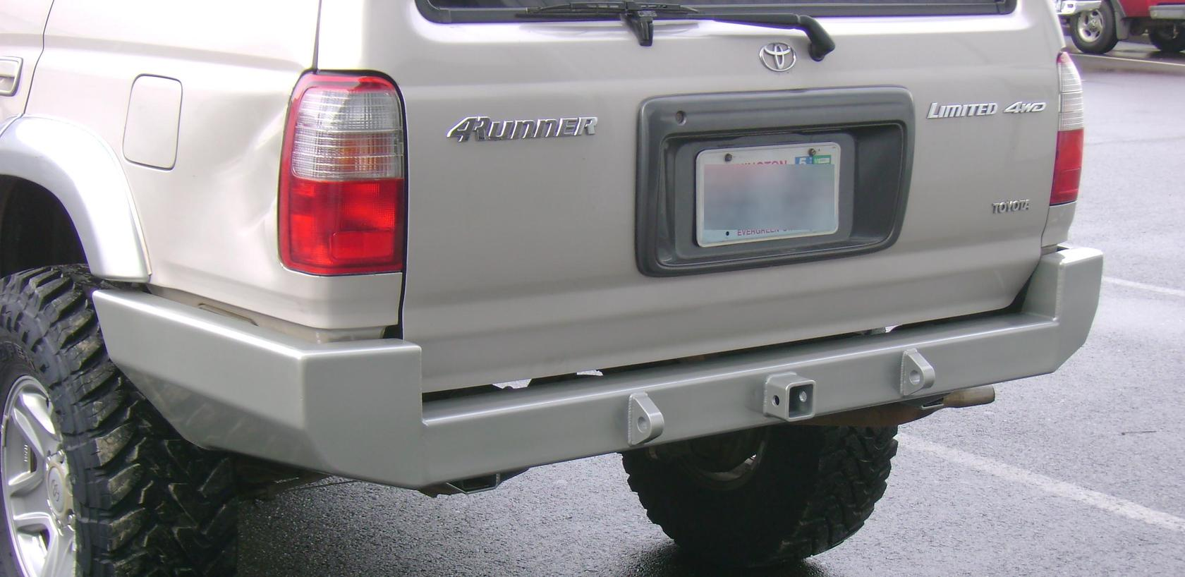 Another Rear Bumper Thread Page 2 Toyota 4runner Forum
