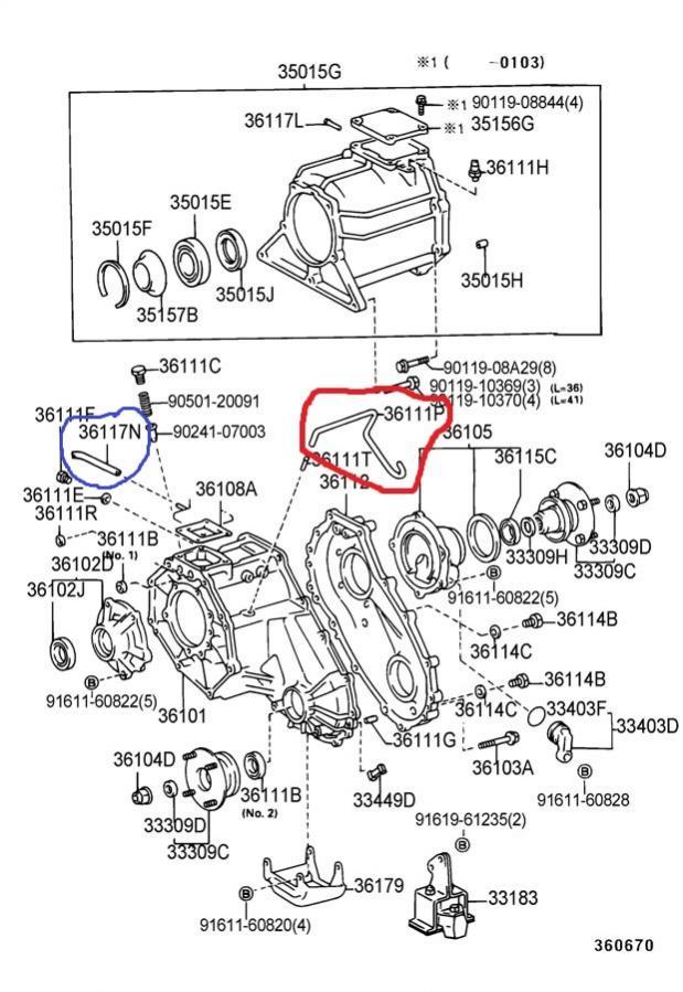 Transmission to transfer case hose part number: *Pic*-diagram-jpg