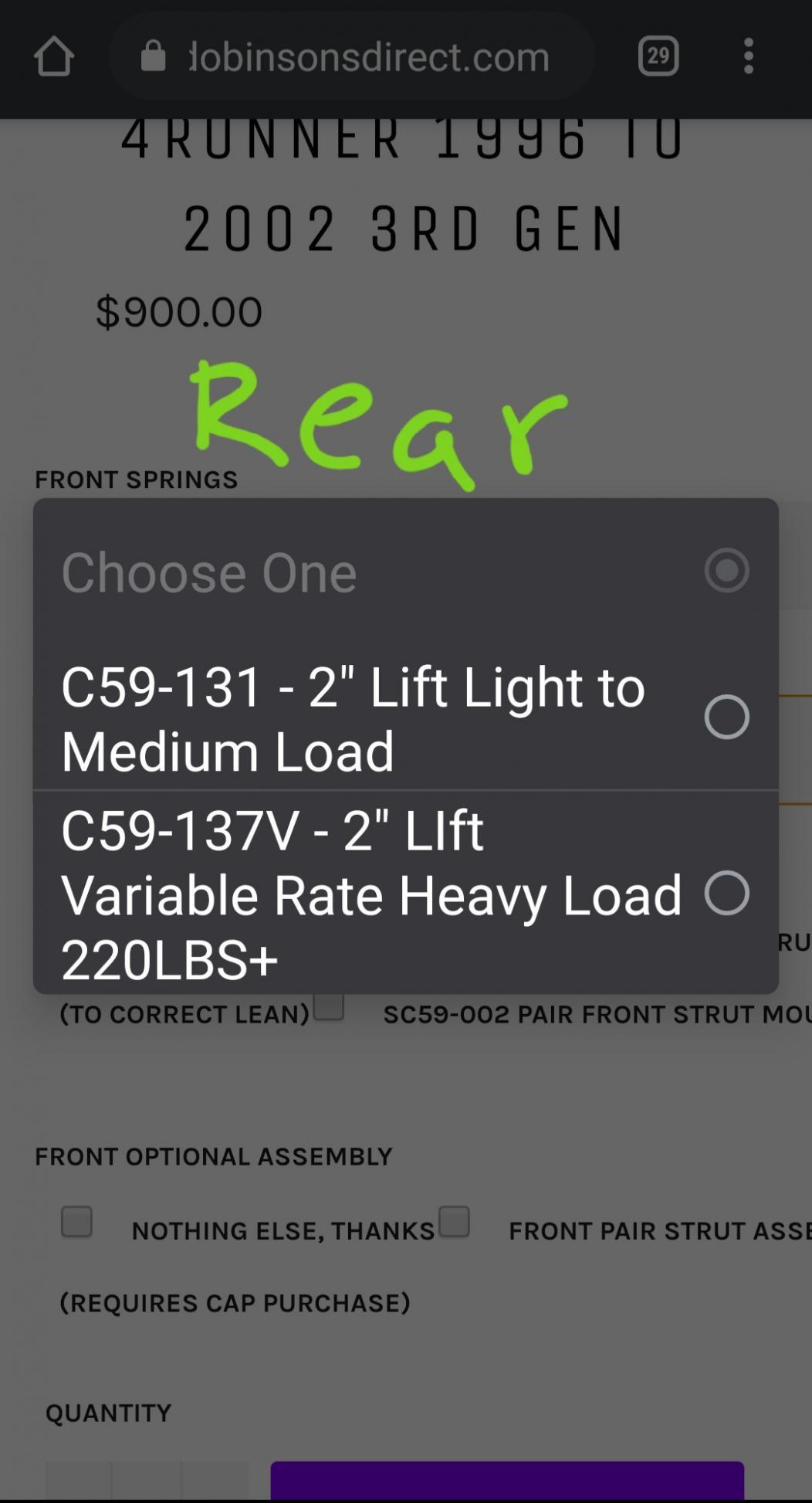 """Dobinsons 2.0"""" Lift kit-20210212_232728-jpg"""