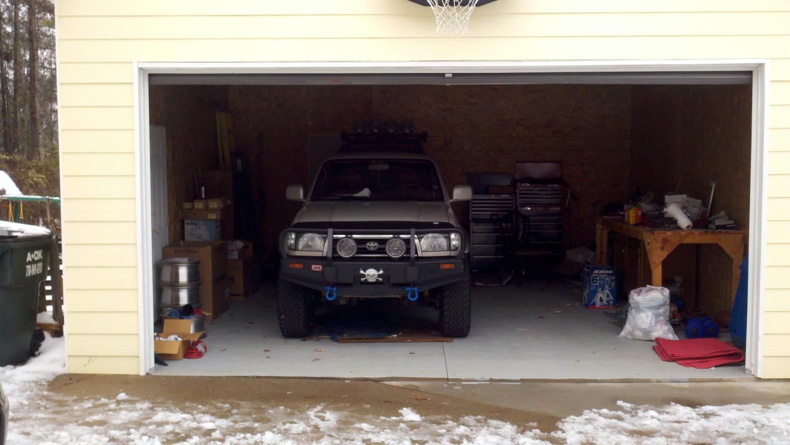 890 #9D2E3F 98 4Runner Limited Desert Dune 4WD Lifted Locked TJM'd OME'd LC picture/photo Millennium Garage Doors 36191579