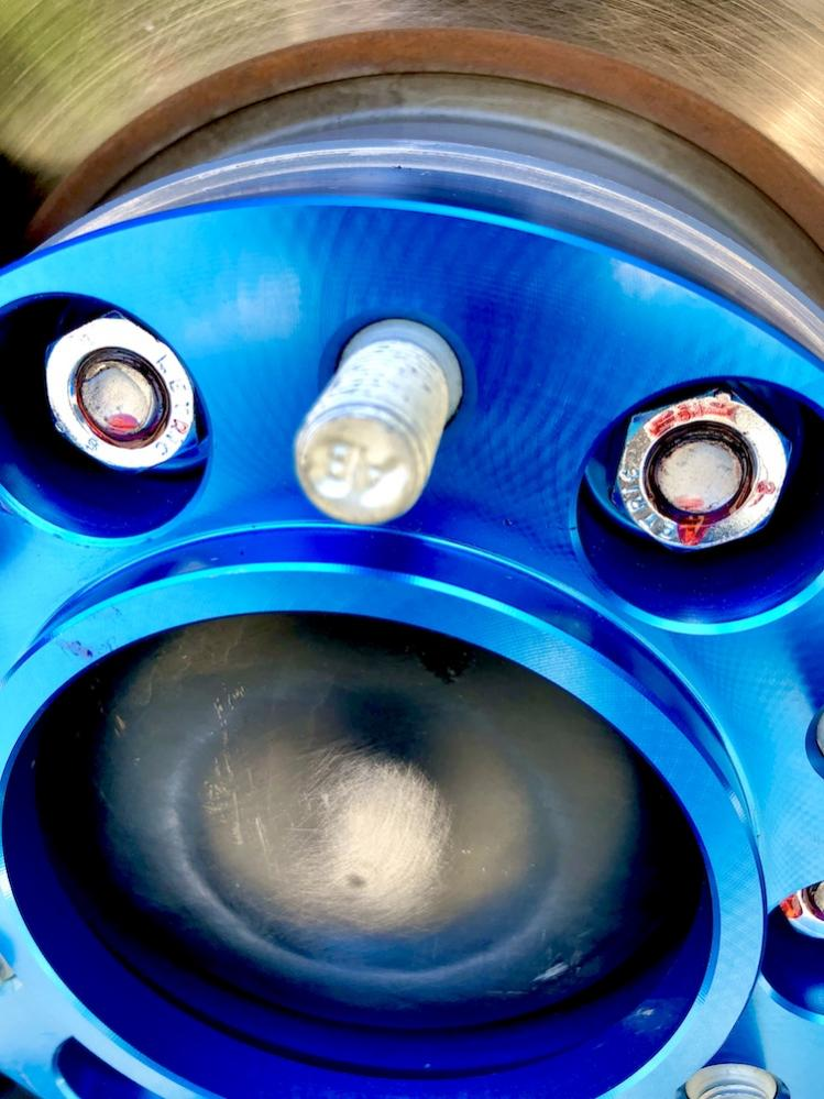Did my used car dealer risk catastrophic failure with these undersized Hub Adapters?-spider2-jpg