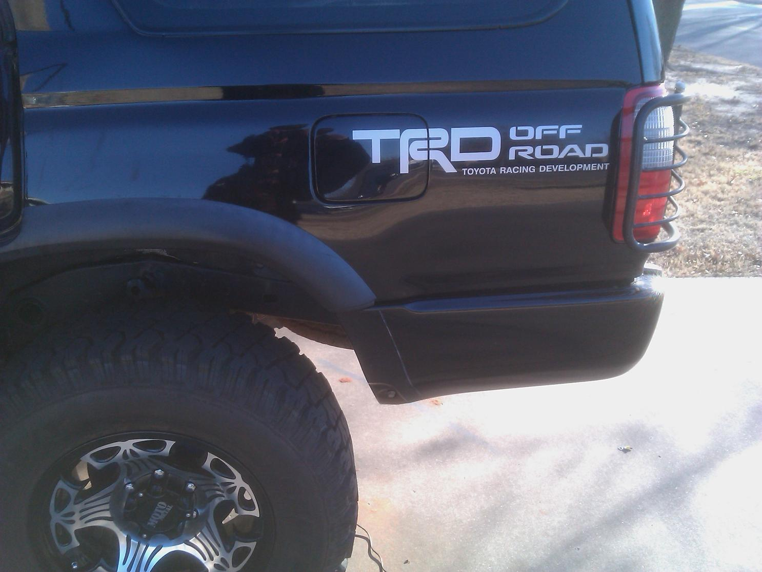 Toyota 4runner Off Road >> What do you guys think? (TRD Decal) - Page 3 - Toyota ...